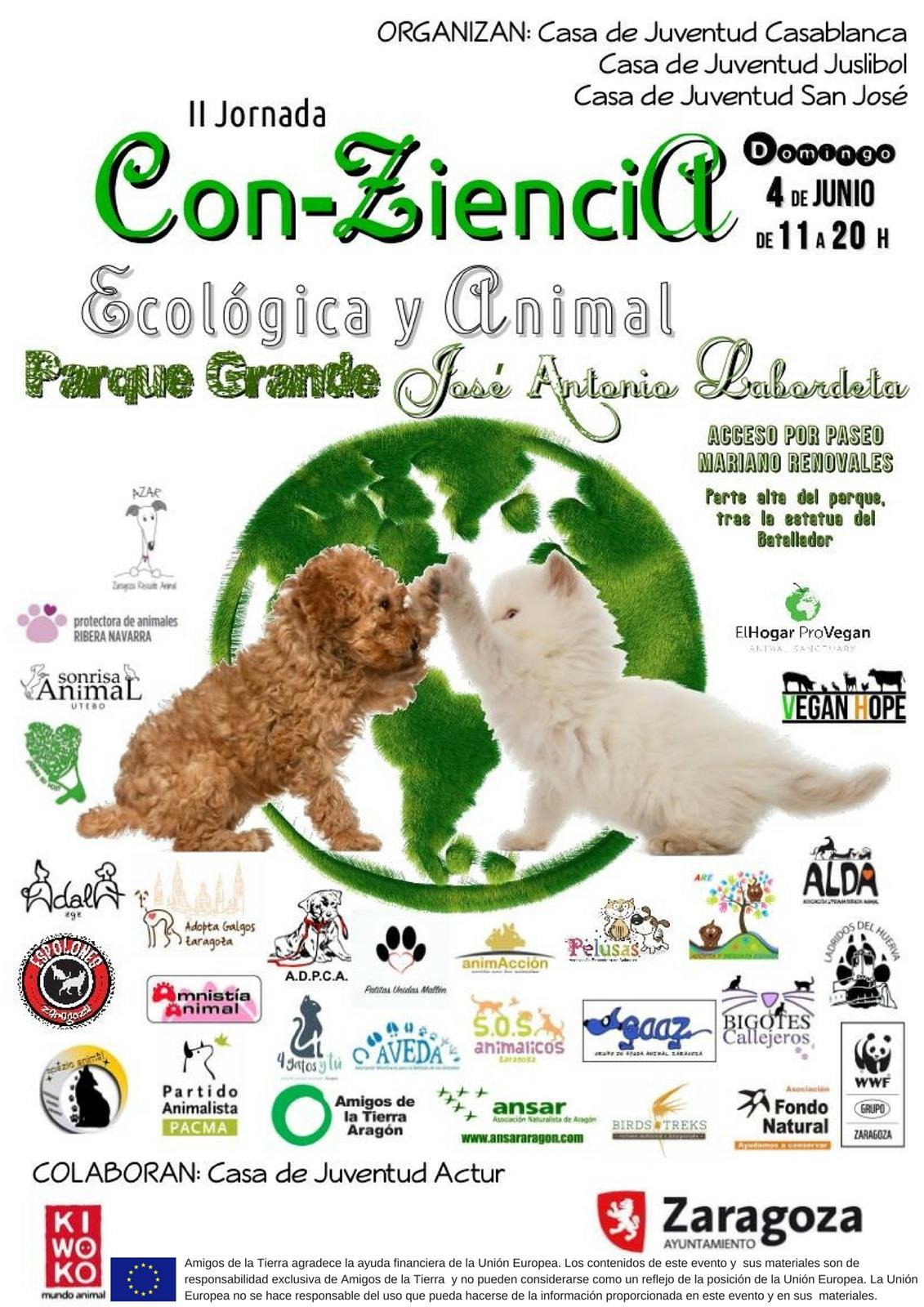 Ir a Aragón: II Jornada Con-Ziencia Ecológica y Animal