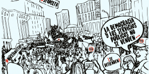 Manifestación contra el CETA