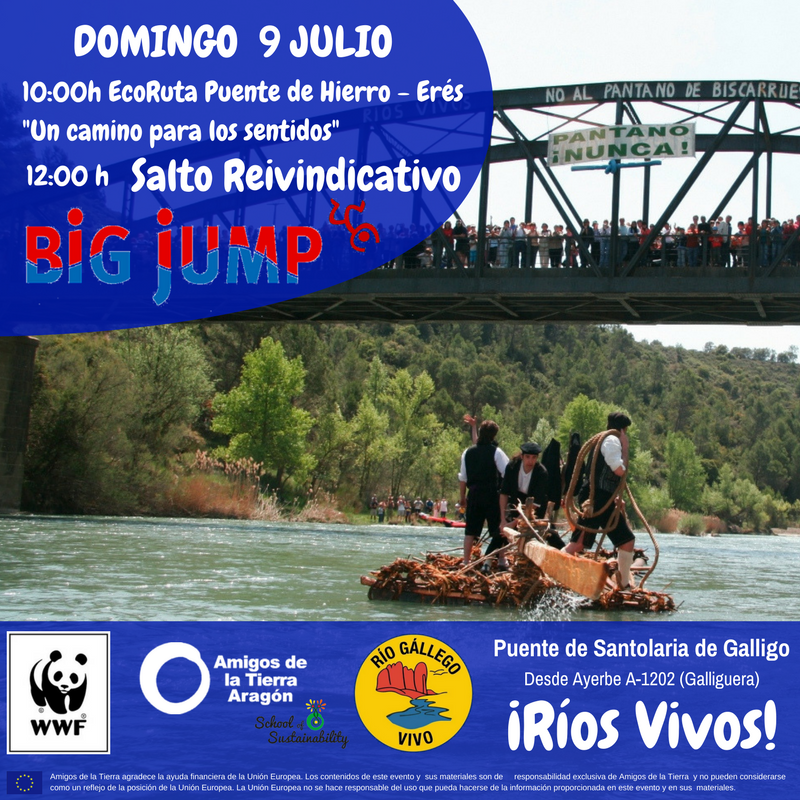 Ir a Aragón: Big Jump – Mójate por los ríos
