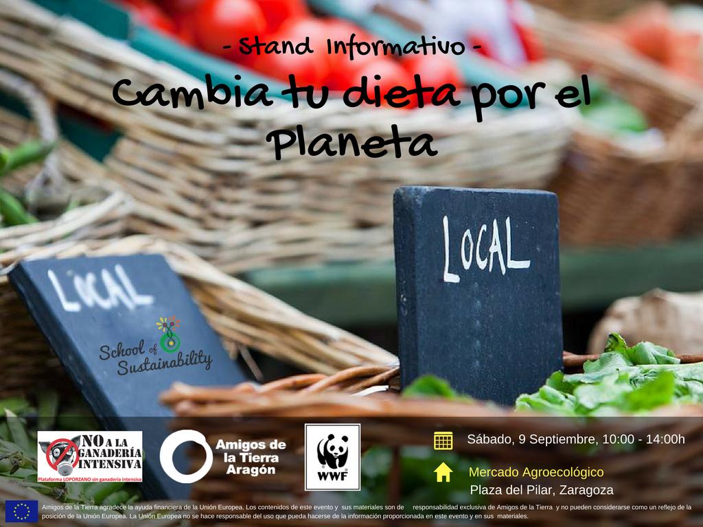 Ir a Aragón: Cambia tu dieta por el Planeta