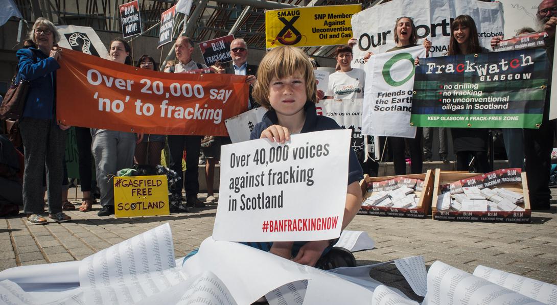 Ir a Amigos de la Tierra celebra que Escocia se sume a la lista de países que prohíben el fracking