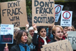 Escocia contra el fracking