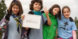 scouts limpieza basura Galicia