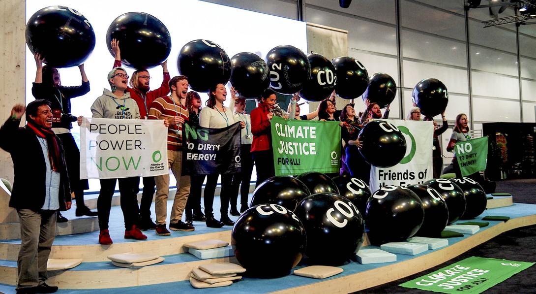 Ir a Cumbre del Clima: Los progresos de la Unión Europea se estancan a marchas forzadas