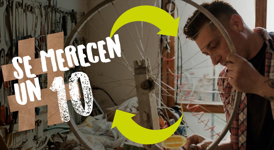 Ir a Lanzamos la campaña '#SeMerecenUn10' para luchar contra la obsolescencia  programada