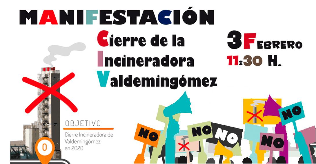 Ir a Madrid: Manifestación para exigir el cierre de la incineradora de Valdemingómez