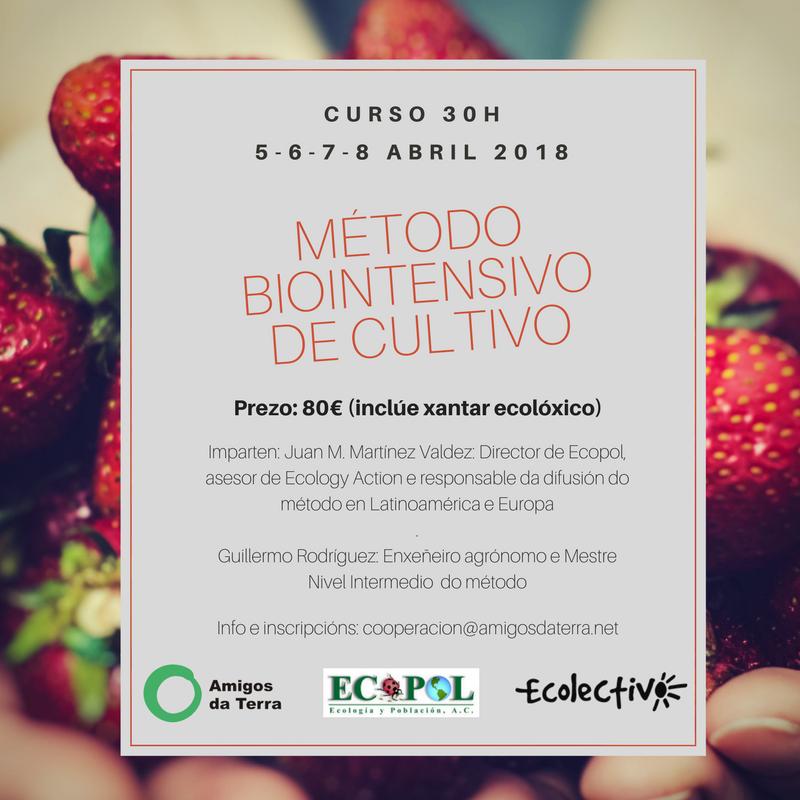 Ir a Galicia: Curso Método Biointensivo para el cultivo de alimentos