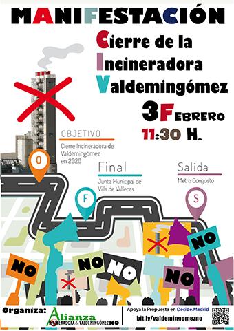 NO a la incineradora de Valdemingómez