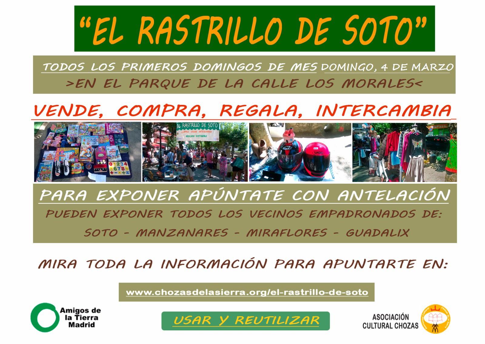 Ir a Madrid: El Rastrillo de Soto