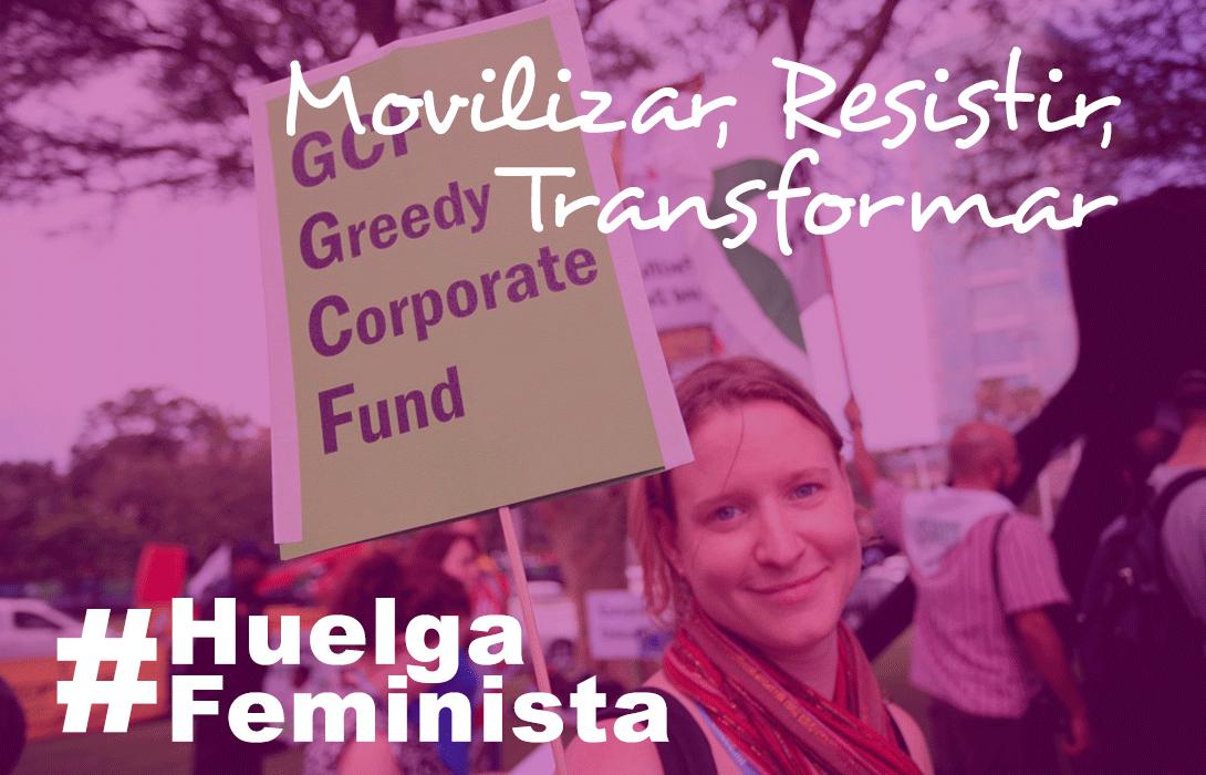 Ir a Amigos de la Tierra apoya la Huelga Feminista