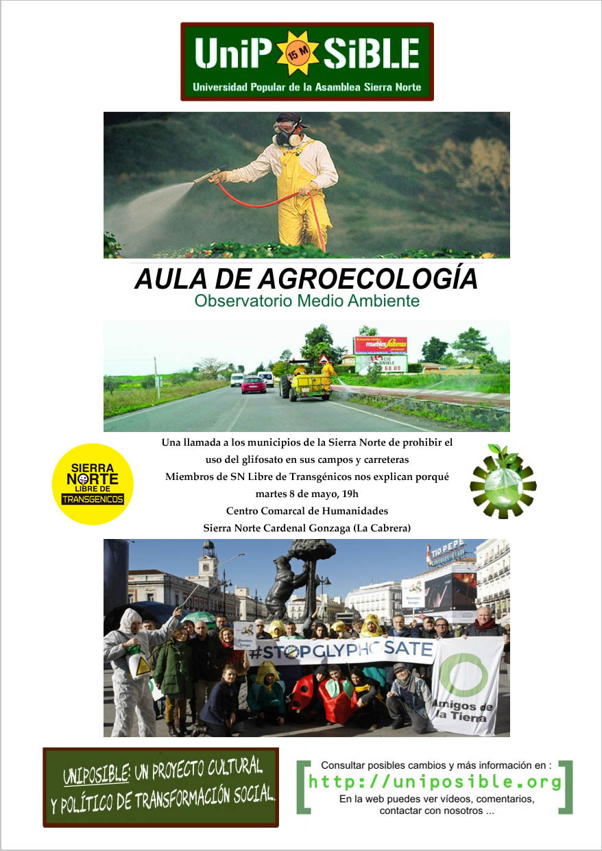 Ir a Madrid: Aula de Agroecología, UniPosible en La Cabrera