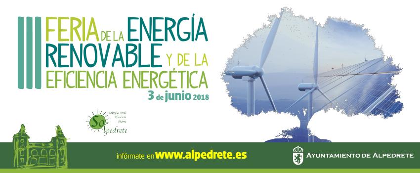 Ir a Madrid: Feria de la Energía Renovable y de la Eficiencia Energética (Alpedrete)