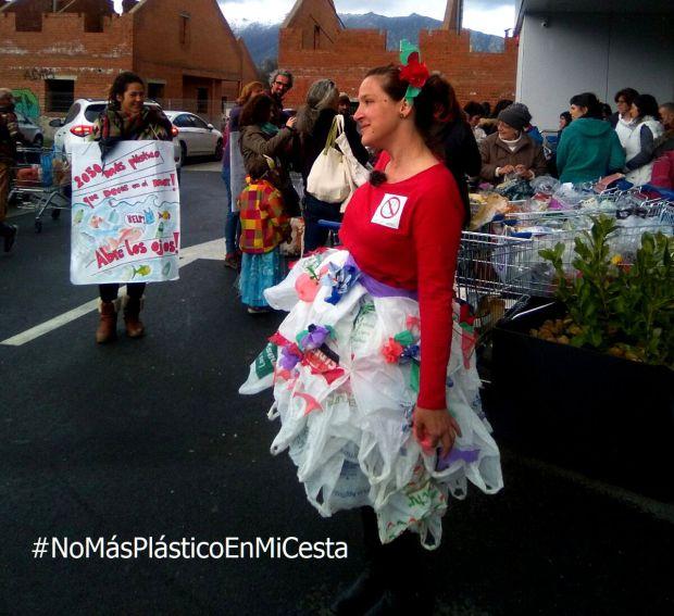 Ir a Madrid: Acción de NastiDePlastic (Collado Villalba)