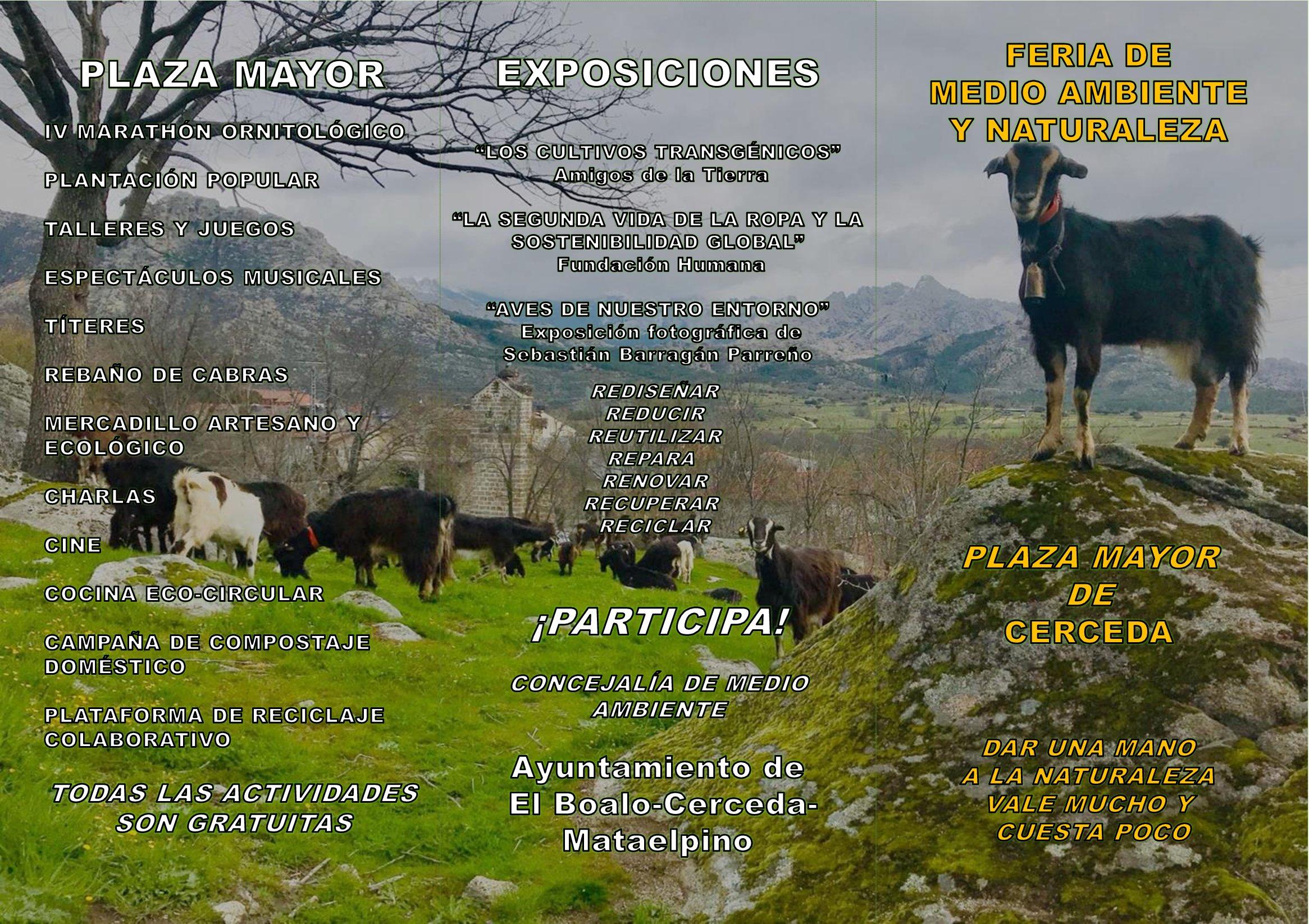 Ir a Madrid: Feria de Medio Ambiente (Cerceda)