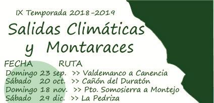 Ir a Madrid: IX Temporada de las Salidas Climáticas