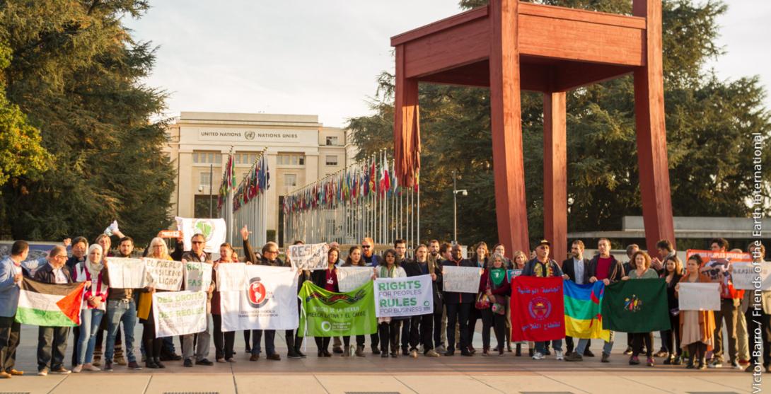 Ir a El Tratado de DD.HH. y Multinacionales seguirá adelante en 2019 a pesar del vacío dejado por la UE y la irresponsabilidad del Gobierno español
