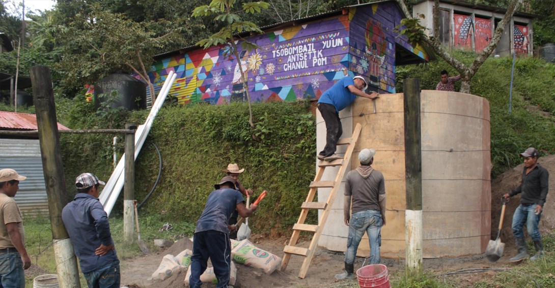 trabajo comunitario México
