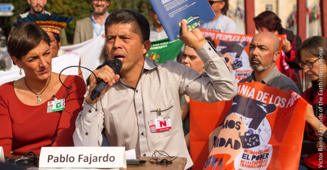 Ir a CHEVRON-TEXACO contra las poblaciones indígenas de Ecuador: Un caso de manual