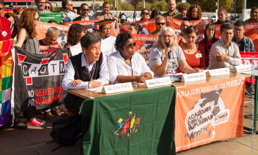 Ir a Tratado de Derechos Humanos y Multinacionales: el Gobierno desoye el mandato del Parlamento
