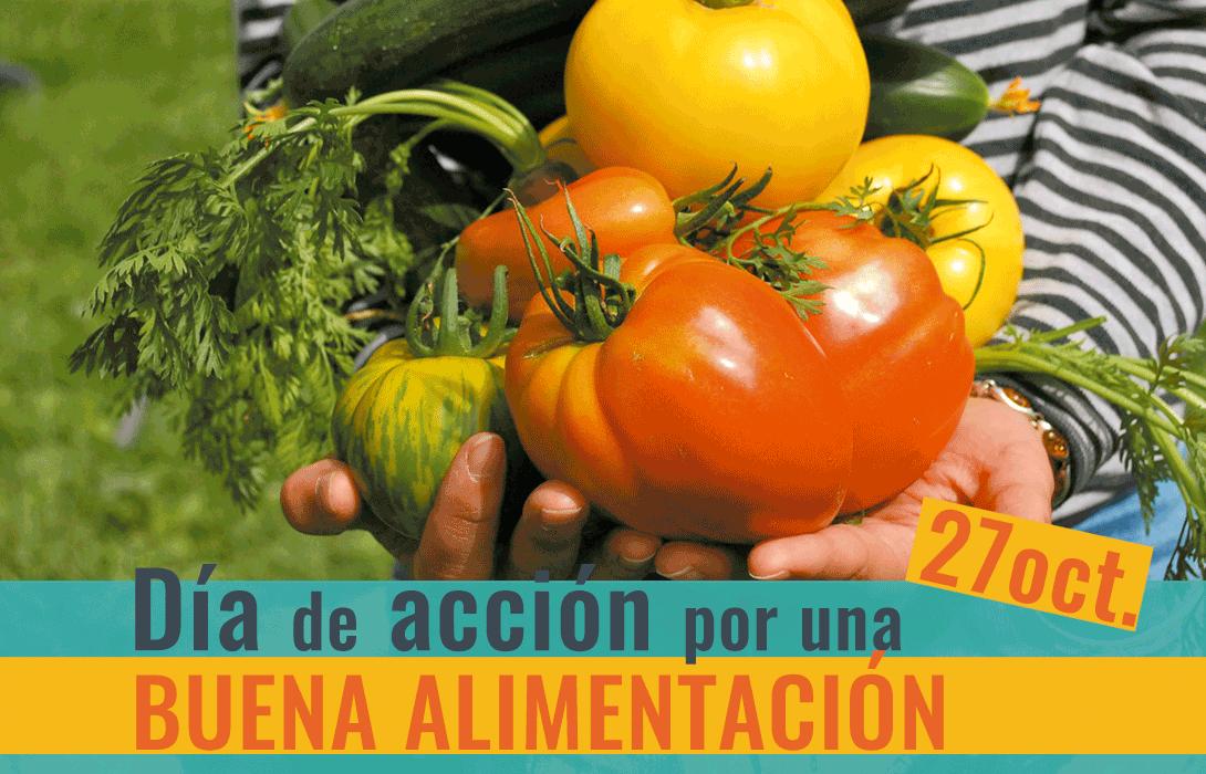 Ir a Colectivos ecologistas, agrarios, ganaderos y de consumidores se unen para reclamar una Buena Alimentación por toda Europa