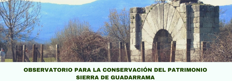 Ir a Madrid: Plenario del Observatorio del Patrimonio de la Sierra de Guadarrama