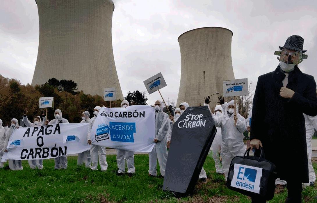 Ir a Movilizaciones en toda España para demandar el fin del carbón ante el inicio de la Cumbre del Clima