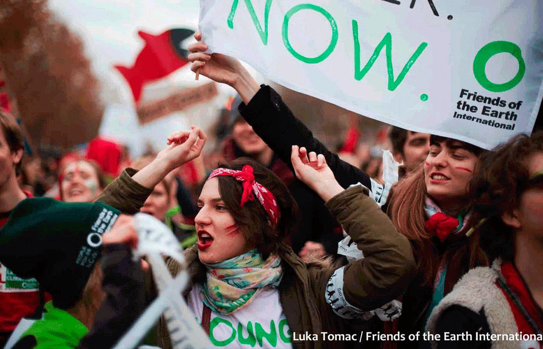 Ir a Mujeres activistas Amigas de la Tierra