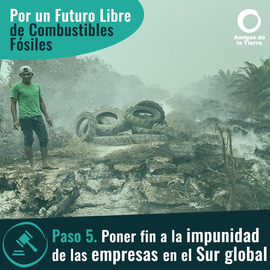 Ir a Paso 5: Poner fin a la impunidad de las empresas en el Sur global