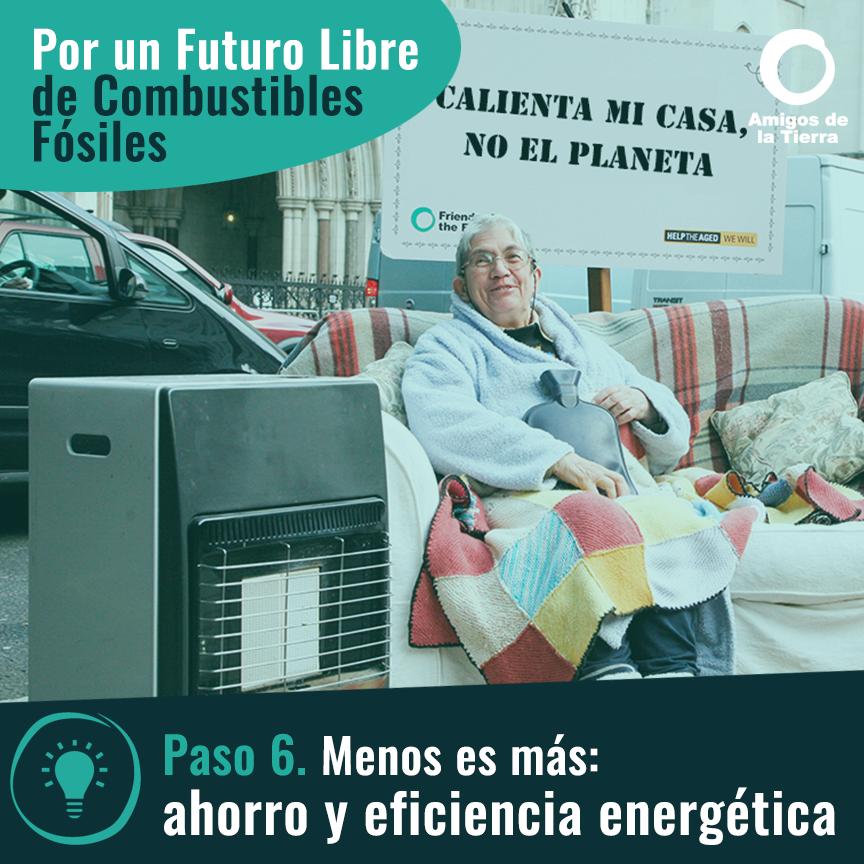 Ir a Paso 6: Menos es más, ahorro y eficiencia energética