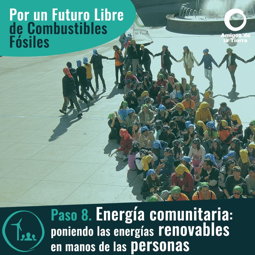 Ir a Paso 8: Energía comunitaria, poniendo las energías renovables en manos de las personas