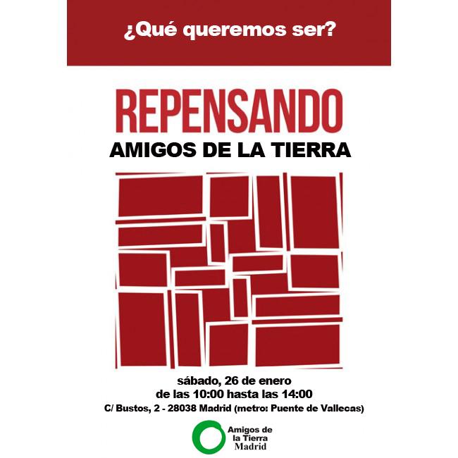 Ir a Madrid: Repensando Amigos de la Tierra