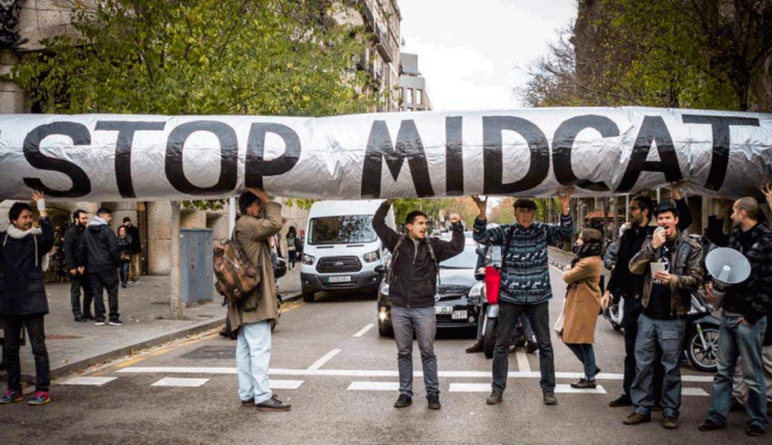 """Ir a El gasoducto """"MidCat"""" entre Francia y España se cancela por su impacto sobre el clima"""