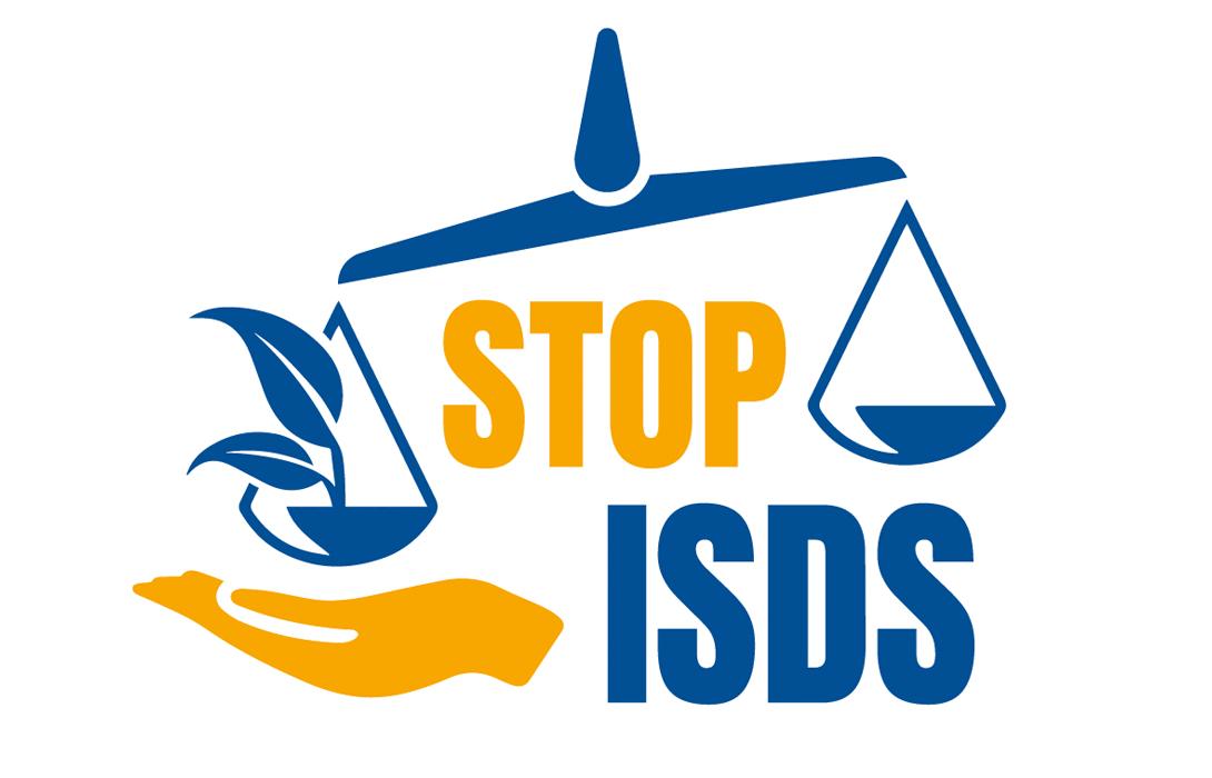 Ir a Derechos para las personas, reglas para las empresas, No ISDS