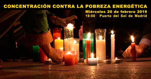 Ir a Madrid: Movilización contra la Pobreza Energética