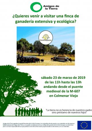 Ir a Madrid: ¿Quieres venir a visitar una finca de ganadería extensiva y ecológica?