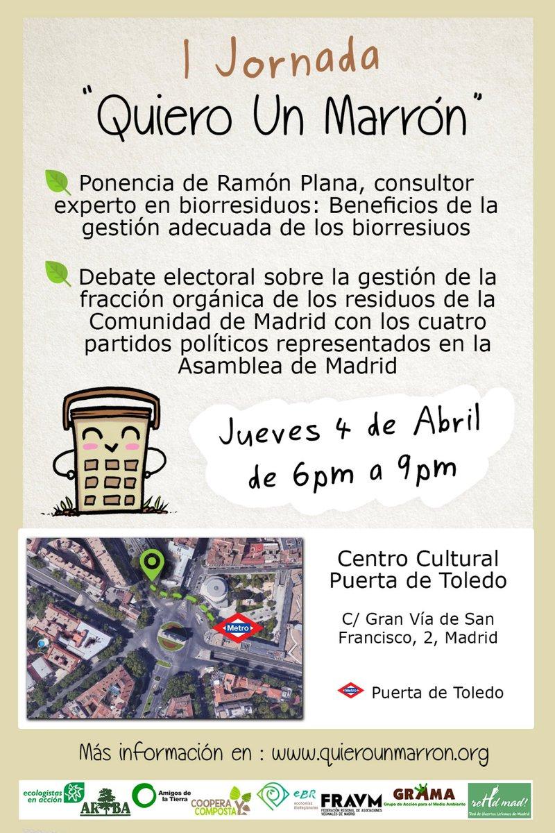 Ir a Madrid: I Jornada «Quiero Un Marrón» (Puerta de Toledo)