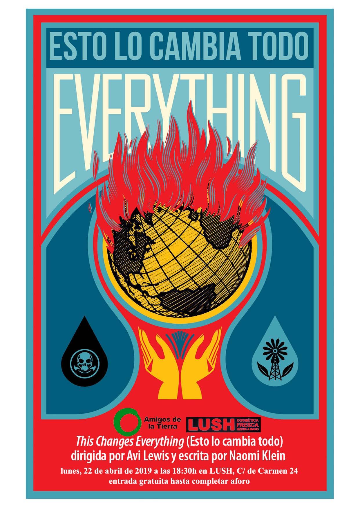 Ir a Madrid: Cine-forum sobre el cambio climático en LUSH