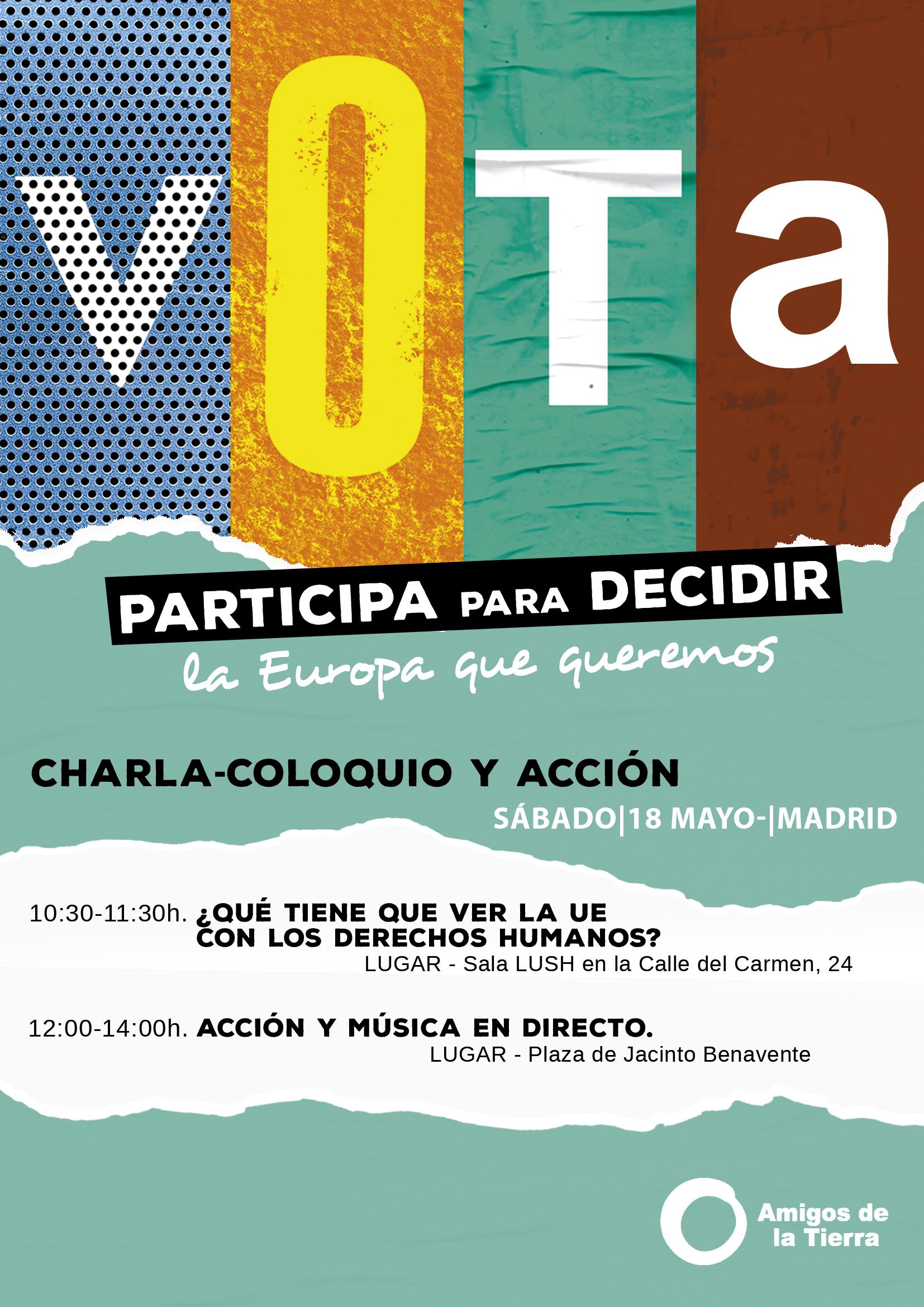 Ir a Madrid: Participa para decidir