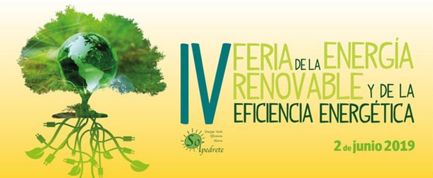 Ir a Madrid:  IV Feria de la Energía Renovable y de la Eficiencia Energética