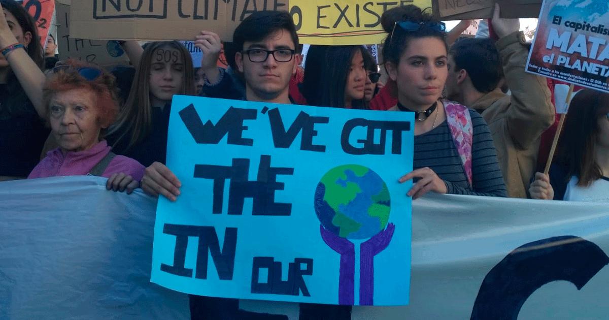 Ir a Más de 100 organizaciones instamos a la ciudadanía a sumarse a la Huelga Mundial por el Clima