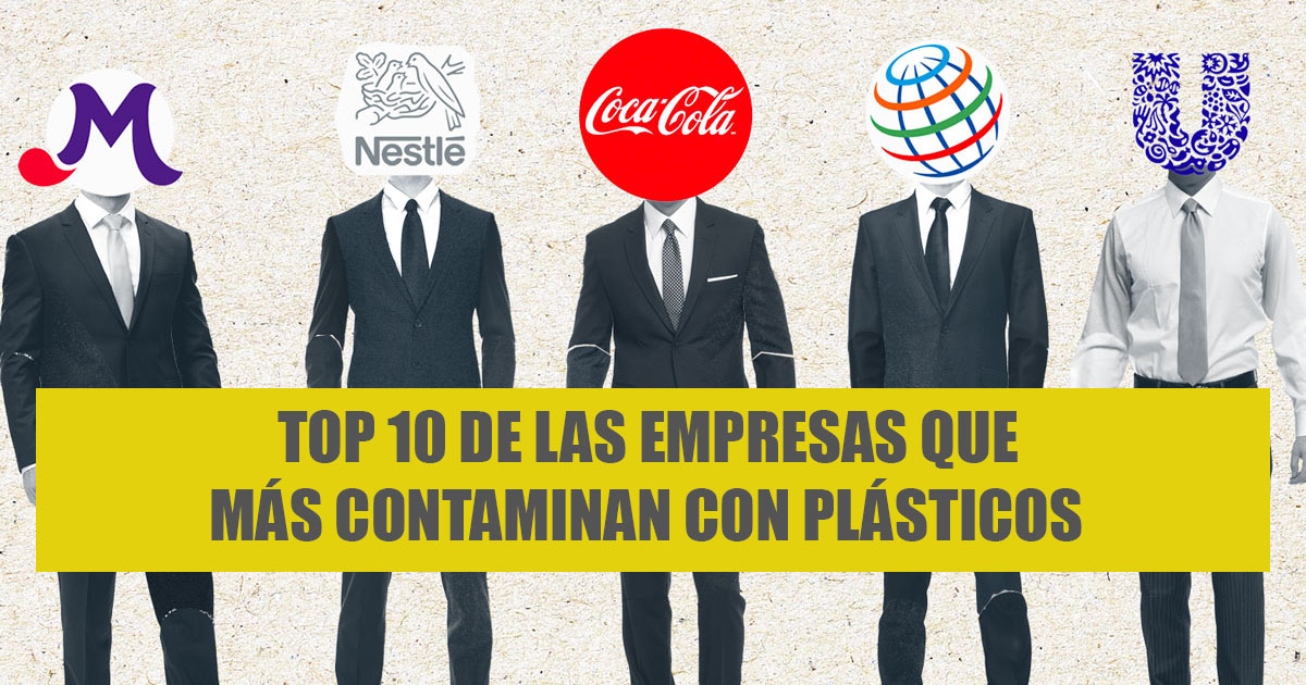 Ir a Top 10 de las empresas que más contaminan con sus plásticos