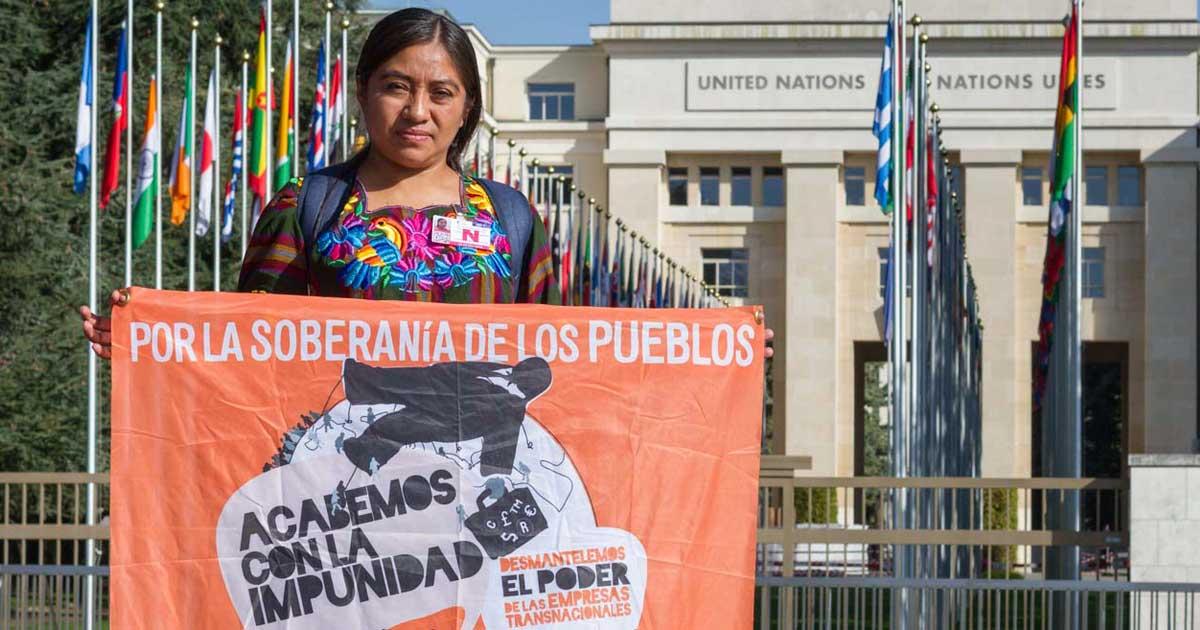 Ir a Gobiernos obstaculizan un tratado de derechos humanos vinculante para las empresas multinacionales