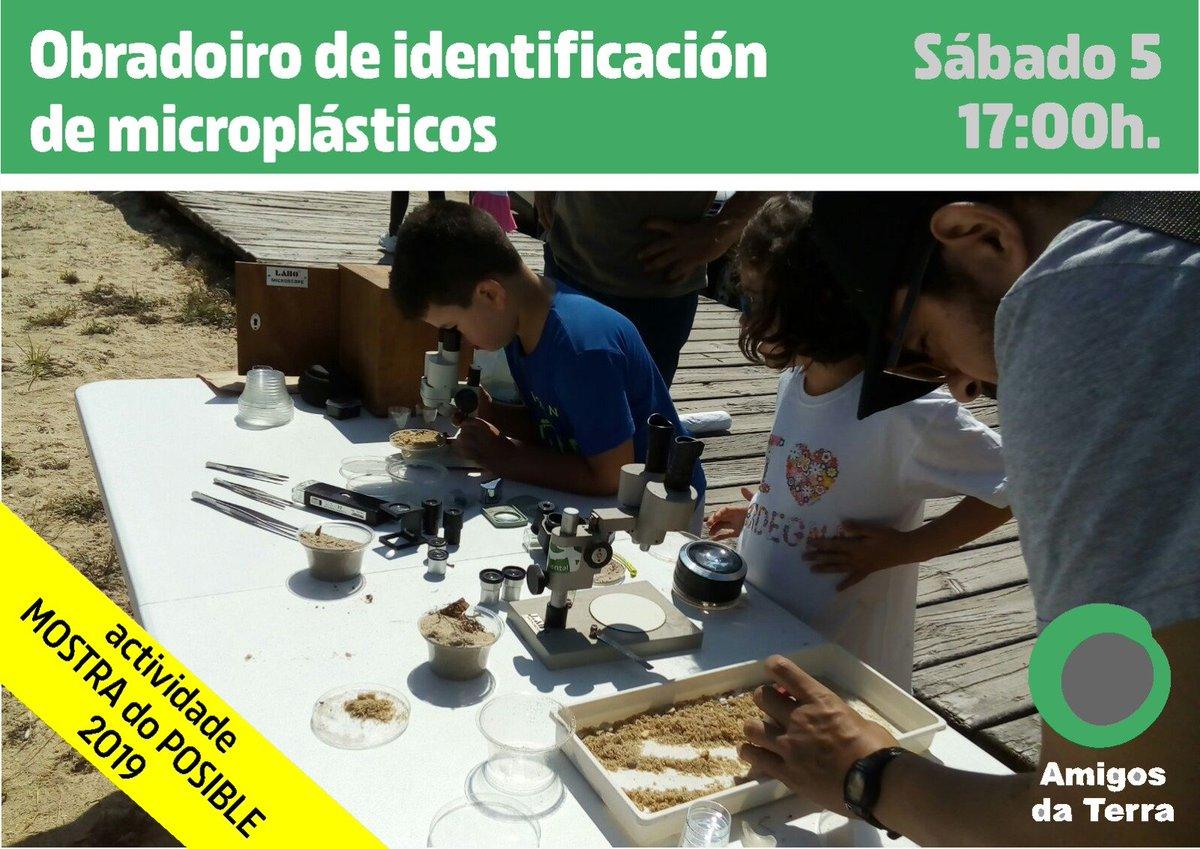 Ir a Taller de identificación de microplásticos
