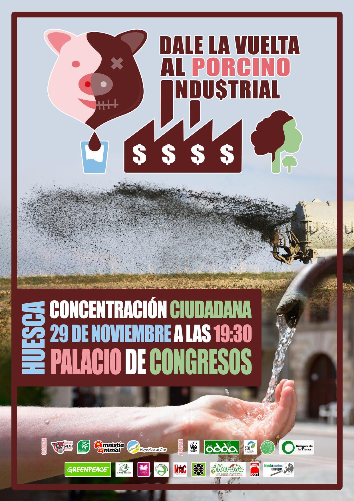 Ir a Aragón: Dale la vuelta al porcino industrial