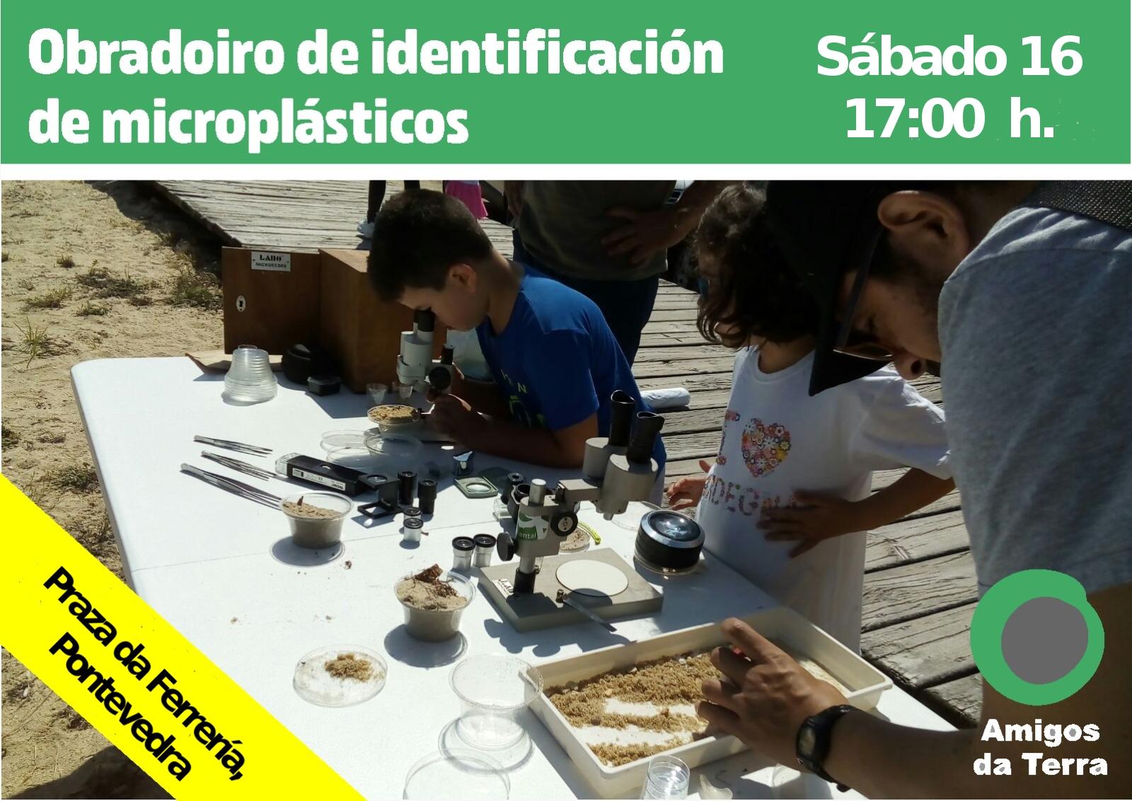 Ir a Galicia: Taller de identificación de microplásticos