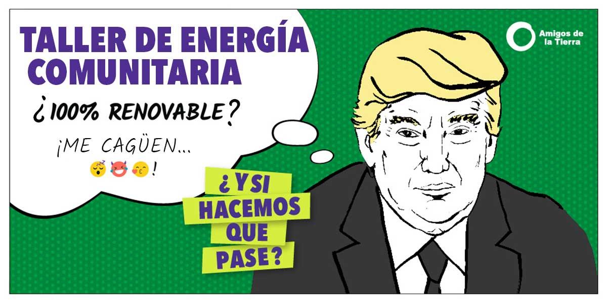 Ir a Madrid: Taller de Energía Comunitaria