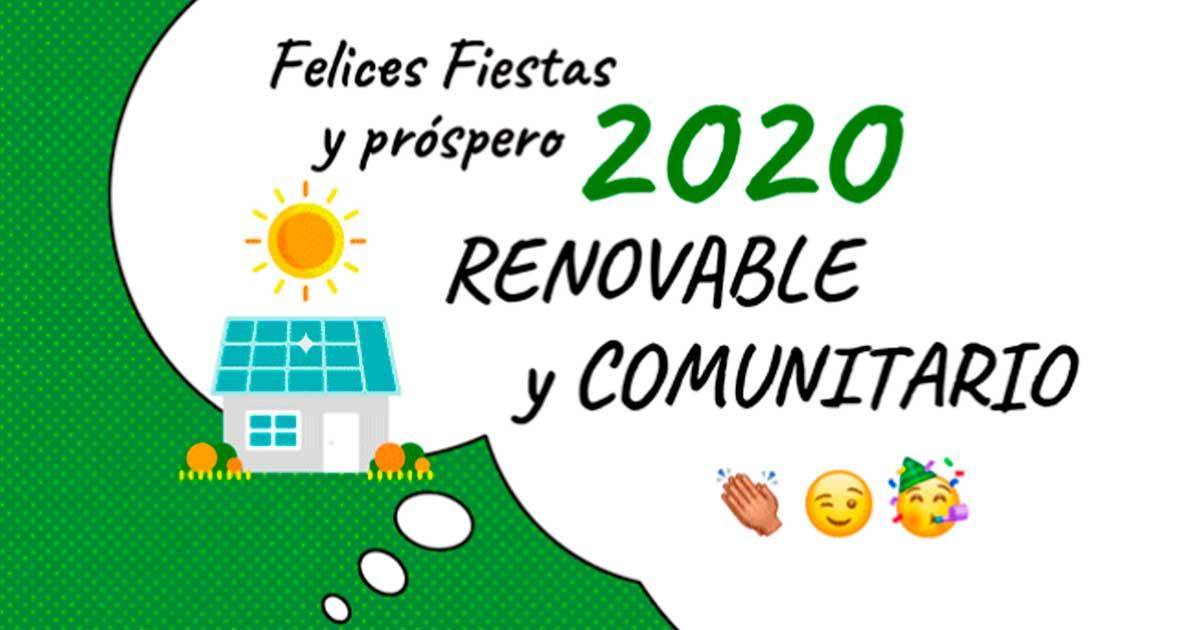 Ir a ¡Feliz año renovable y comunitario!
