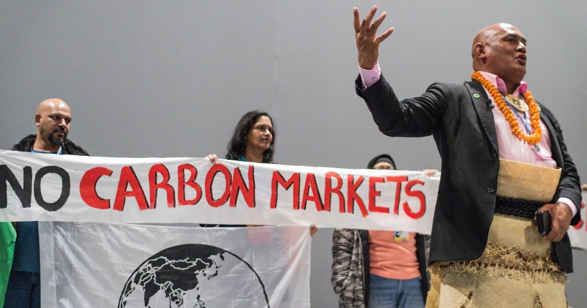 Fuera mercados de carbono CO2 de la COP2 y el Acuero de París
