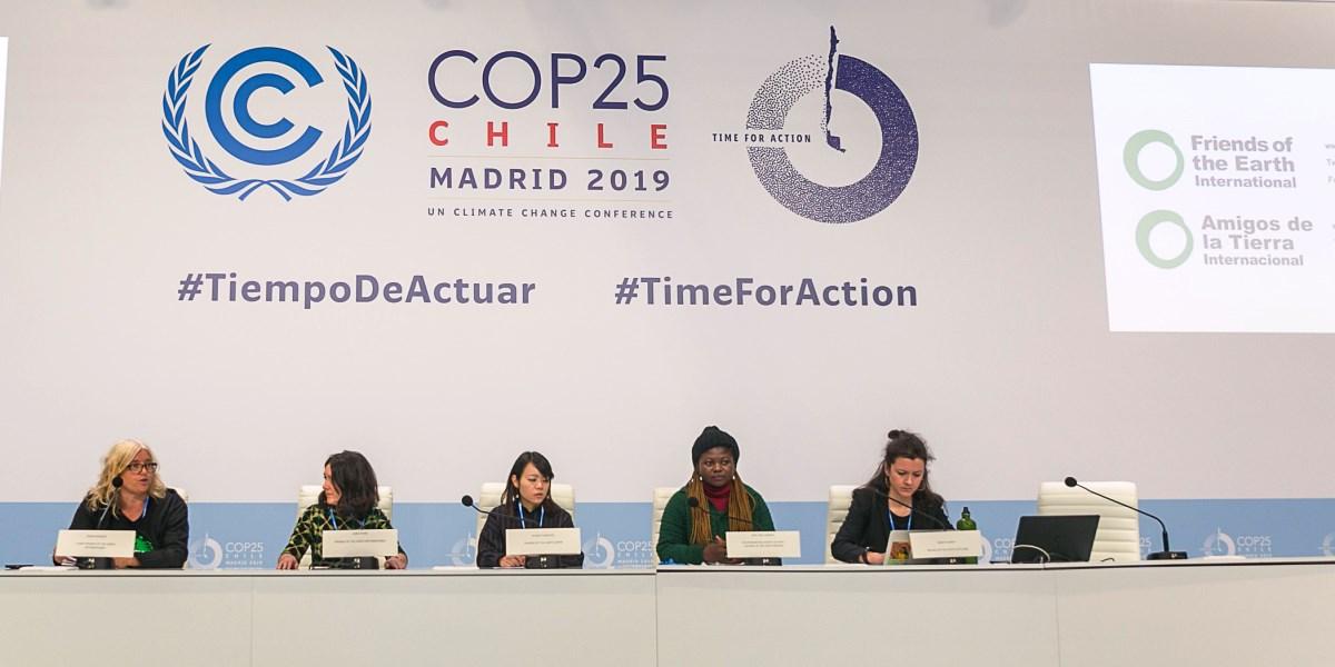 Ir a Las negociaciones del clima están muy alejadas de la realidad