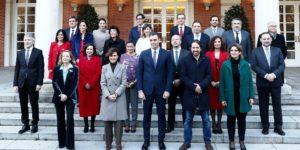nuevo gobierno de españa Sanchez 2020